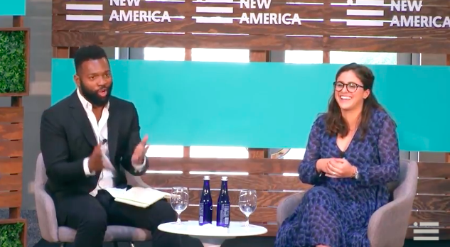 New America: Baratunde Thurston and Vivian Graubard on the Future of Civic Tech