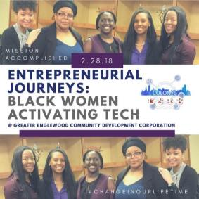 I am a Black Female Founder and I hope to inspire other women to pursue entrepreneurship through The Civic Tech Collective.