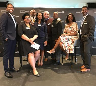 May 16, 2018: Colony 5 and Jimmy Odom, Director of Inclusive Entrepreneurship, ChicagoNEXT, World Business Chicago